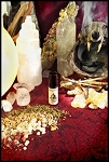 CONJURE PERFUME OIL 5 ml - Vanilla, Amber, Cedar, Spices & Cauldron Smoke