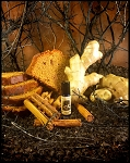 DARK GINGER SPICECAKE PERFUME OIL 5 ml - Gingerbread, Vetiver, Patchouli, Cedar, Amber, Benzoin - **REFORMULATED**