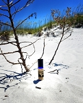 GULF BREEZE PERFUME OIL 5 ml - Saltwater, sand, seashells, sea oats, rain, ambergris (vegan accord)