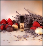 LAVENDER RASPBERRY TRUFFLE PERFUME 5 ml - White Chocolate, French Lavender, Bulgarian Lavender, Tonka, Cocoa Absolute, Raspberry in Organic Cane Sugar Alcohol