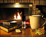 MAPLEWOOD INN PERFUME OIL 5 ml - Maple, Woods, Amber, Benzoin, A Roaring Fire & A Hot Cup Of Frothy Vanilla Chai