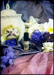 VIOLET MALLOW PERFUME OIL 5ml  - Marshmallow Cream, Violet Flowers, Vanilla Bean, White Musk