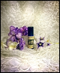 VIOLET WHITE LEATHER PERFUME OIL 5 ml - Violet, Vanilla, White Leather, Coumarin