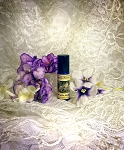VIOLET WHITE LEATHER PERFUME OIL 5 ml - Violet, Vanilla, White Leather, Coumarin, White Musk
