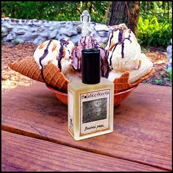 BLACKBURN'S PARLOR EAU DE PARFUM (EDP) 60 ml Perfume Spray - Vanilla Waffle Bowl, Vanilla & Chocolate Ice Creams, Banana, Caramel, Whipped Cream