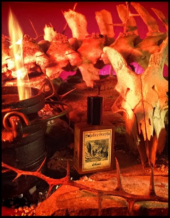 GEHENNA EAU DE PARFUM (EDP) 60 ml Perfume Spray - Red Musk, Dragon's Blood Resin, Burning Wood, Somalian Myrrh, Egyptian Musk