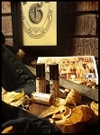 GIBBON'S BOARDING SCHOOL PREMIUM FRAGRANCE 5ML - Dusty Wooden Desks, Paper, Leather, Amber, Tobacco, Dying Fire, Dried Leaves, Autumn Breeze