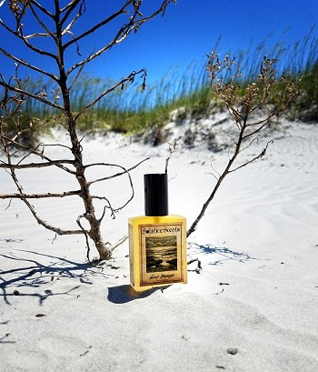 GULF BREEZE EAU DE PARFUM (EDP) 60 ml Perfume Spray - Saltwater, sand, seashells, sea oats, rain, ambergris (vegan accord)