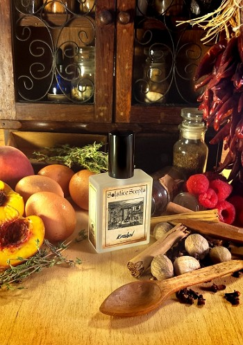 KITCHEN EAU DE PARFUM (EDP) 60 ml Perfume Spray - Pumpkin, Sugar Cookies, Peach Preserves, Spice Breads, Danishes, Caramel, Vanilla & Sweet Wood Smoke