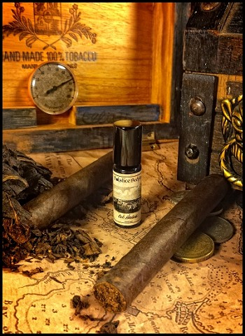 OLD HAVANA PERFUME OIL 5 ml - Tobacco, Woods, Sea Mist, Lime, Spices