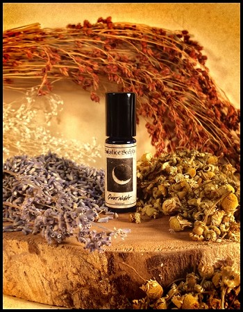 QUIET NIGHT PERFUME OIL 5 ml - Natural Aromatherapy blend of Lavender & Roman Chamomile EO
