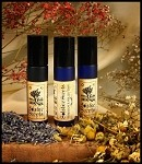 QUIET NIGHT PERFUME - Natural Aromatherapy blend of Lavender & Roman Chamomile EO