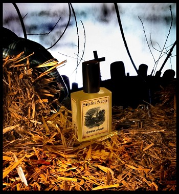 RIVERSIDE HAYRIDE EAU DE PARFUM (EDP) 60 ml Perfume Spray -  Moist Dirt, White Carnations, Fallen Leaves, Bare Branches, Hay & a Hint of Pressed Apples