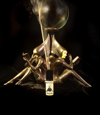 SCRYING SMOKE PERFUME 5 ml - Natural and Meditative Melting Frankincense Resin, Frankincense Smoke, Vanilla, Sandalwood, Cedar, Petigrain, Vetiver, Labdanum & much more in Organic Cane Sugar Alcohol