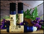 VIOLET TRUFFLE PERFUME OIL 5ml - Dark Chocolate, Violet, Violet Leaf & Vanilla Absolute